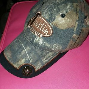 Camo Justin Boots 12 Gauge Shell Hat